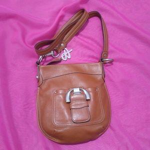 B Makowsky Excellent leather bag